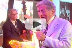 VIDEO: Tony Bennett Sings 'One for My Baby' on TODAY