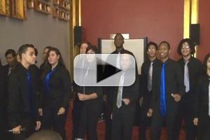 BWW TV Exclusive: Celia Cruz Choir Sings 'Can I Close the Door (On Love)' from MOTOWN at AT THIS STAGE Expo