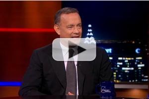 VIDEO: Tom Hanks Talks 'Captain Phillips' on COLBERT