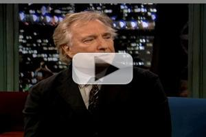 VIDEO: Alan Rickman Talks New Film CBGB on FALLON
