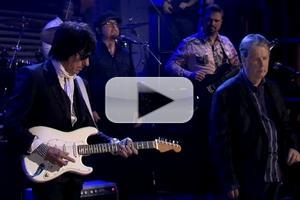VIDEO: Music Legends Brian Wilson, Jeff Beck Perform on JIMMY FALLON