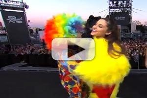 VIDEO: Ariana Grande Plays Halloween Trick on Fans on JIMMY KIMMEL