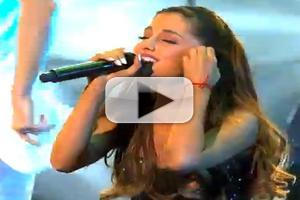 VIDEO: Ariana Grande Performs 'Right There', 'The Way' on KIMMEL