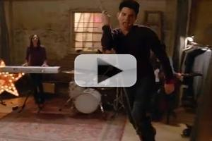 VIDEO: Sneak Peek - Adam Lambert Swings into GLEE's Next Episode