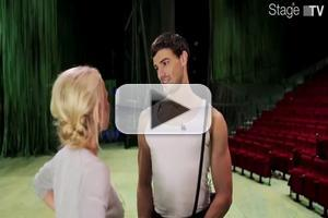 STAGE TUBE: Behind the Scenes - Swing with Gian Marco Schiaretti in TARZAN, Opening in Germany!