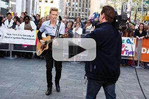 VIDEO: Cody Simpson Performs Live on TODAY