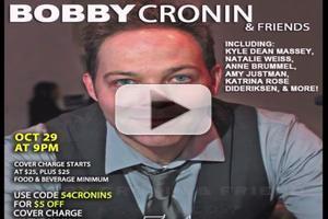 STAGE TUBE: Bobby Cronin Makes 54 Below Debut 10/29