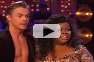 VIDEO: Amber Riley Performs a 'Fierce' Samba on DWTS