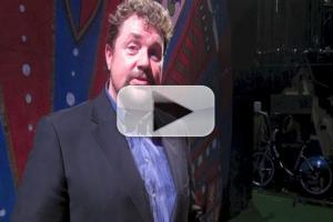 BWW TV: Michael Ball Gives BroadwayWorld a Shoutout at SPAMALOT Press Night