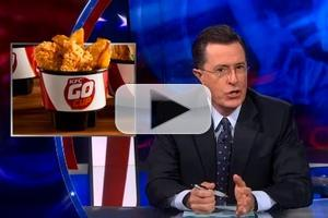 VIDEO: Stephen Talks KFC's 'Go Cup' on COLBERT
