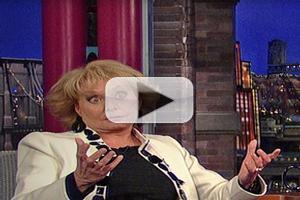 VIDEO: Barbara Walters Talks 'Little Something' w/ Fidel Castro on LETTERMAN