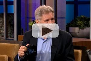 VIDEO: Harrison Ford Talks 'The Expendables  3' on LENO