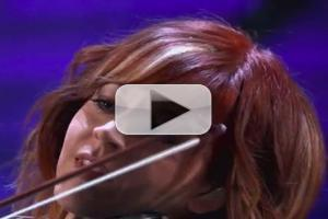 VIDEO: Violinist Lindsey Stirling Performs New Track on CONAN