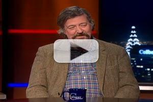 VIDEO: Stephen Fry Talks TWELFTH NIGHT on 'Colbert'