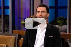 VIDEO: Adam Levine Talks 'The Voice' & More on JAY LENO