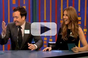 VIDEO: Celine Dion & Hugh Laurie Play 'Singing Password' on FALLON