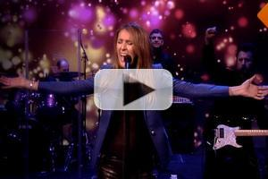 VIDEO: Celine Dion Performs 'Loved Me Back to Life' on THE VIEW