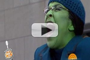 STAGE TUBE: Lindsay Mendez Sings 'The Wizard and I' on TODAY!