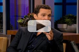 VIDEO: Matthew McConaughey Talks 'Dallas Buyers Club' on LENO