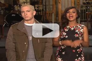 VIDEO: Kerry Washington & Eminem in New SNL Promo