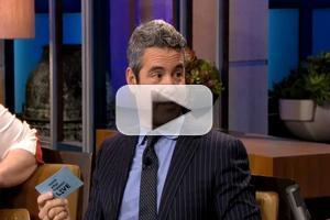 VIDEO: Andy Cohen Plays 'Plead the Fifth' on JAY LENO