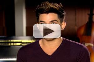 VIDEO: Adam Lambert Talks Early GLEE Audition & Upcoming Guest Role
