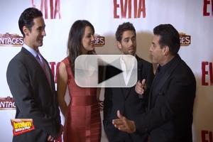 BWW TV: On the Red Carpet with Caroline Bowman, Josh Young, Sean MacLaughlin & More in EVITA at Pantages