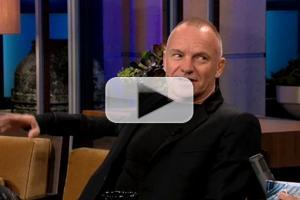 VIDEO: Sting Talks 'LAST SHIP', Love of Show Tunes on LENO