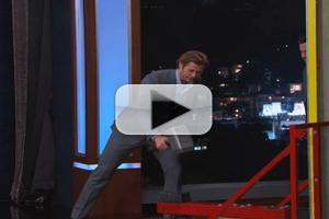 VIDEO: 'THOR's Chris Hemsworth Takes on Superhero Strongman Challenge on KIMMEL