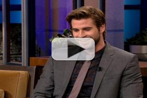 VIDEO: Liam Hemsworth Chats 'Catching Fire' on LENO