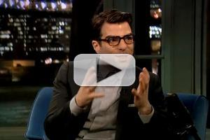 VIDEO: Zachary Quinto Chats GLASS MENAGERIE on 'Fallon'