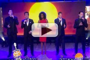VIDEO: IL DIVO Talk Broadway Run, Perform 'Feel the Love Tonight' on TODAY