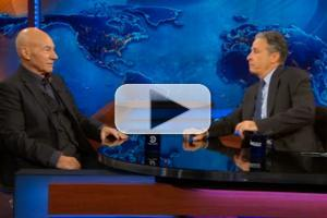 STAGE TUBE: Patrick Stewart Talks Broadway, Lobster Costumes & More on DAILY SHOW