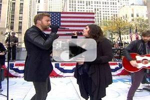 VIDEO: Lady Antebellum Performs in Honor of Veteran's Day on TODAY