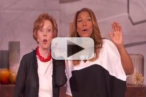 VIDEO: Carol Burnett and Queen Latifah Duet on Burnett's Sign-Off Song
