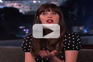VIDEO: Zooey Deschanel Talks Naked Drinking Game w/ Taye Diggs on KIMMEL