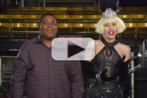 VIDEO: First Look - Lady Gaga in Promo for This Week's SNL