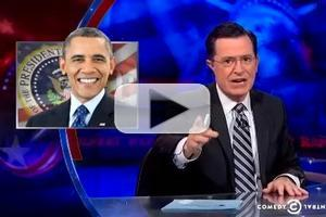 VIDEO: Stephen Talks Obamacare 'Glitches' on COLBERT