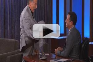 VIDEO: Robin Williams Gets Physical on JIMMY KIMMEL LIVE!