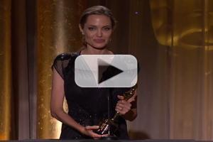 VIDEO: Angelina Jolie, Steve Martin & Piero Tosi Receive Academy's 2013 Governors Awards