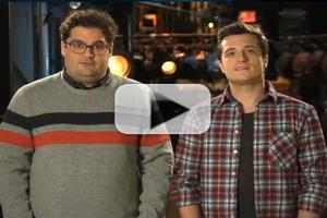 VIDEO: First Look - Josh Hutcherson in Promo for SATURDAY NIGHT LIVE