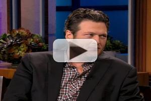 VIDEO: Blake Shelton Talks Adam Levine's 'Sexiest Man' Honor on LENO