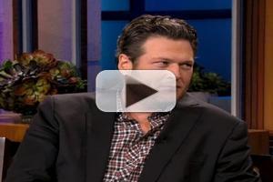 VIDEO: Blake Shelton Talks Adam Levine's 'Sexiest Man' Honor on LENO
