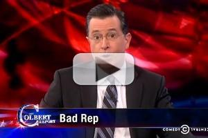 VIDEO: Stephen Talks Trey Radel's Cocaine Arrest & More on COLBERT