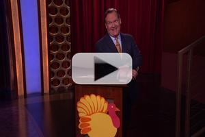 VIDEO: Andy Richter's Paper Turkey Hunt on Tonight's CONAN