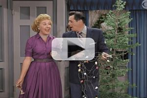 First Look - I LOVE LUCY CHRISTMAS SPECIAL in Color on CBS