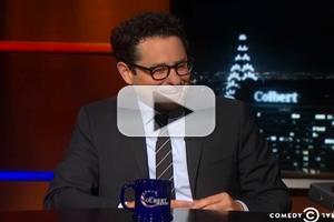 VIDEO: J.J. Abrams Talks Star Wars, New Novel 'S' & More on COLBERT
