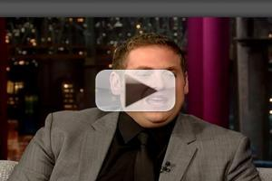 VIDEO: Jonah Hill Talks New Film 'The Wolf of Wall Street' on LETTERMAN