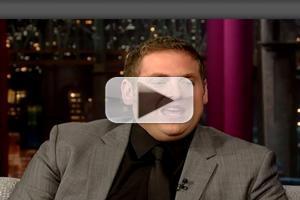 VIDEO: Jonah Hill Talks New Film 'The Wolf of Wall Street' on LETTERMAN