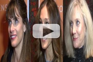 BWW TV: Chatting with Amanda Peet, Sarah Jessica Parker, Blythe Danner & More on Opening Night of THE COMMONS OF PENSACOLA
